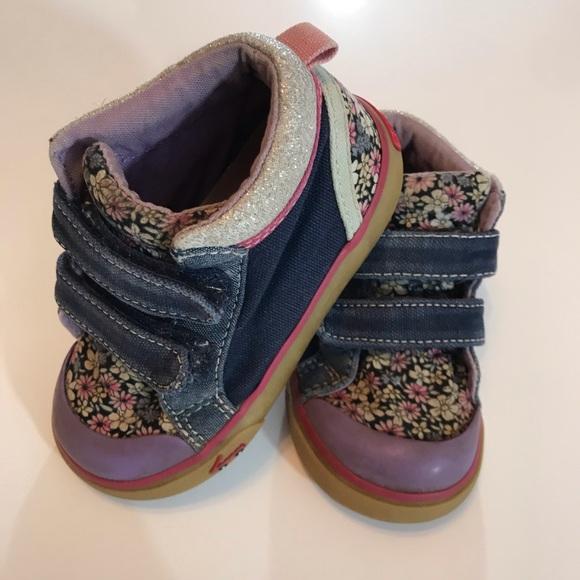See Kai Run Shoes | Flower Sneakers